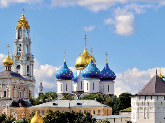 Image Serguiev Possad laure Trinite Saint Serge
