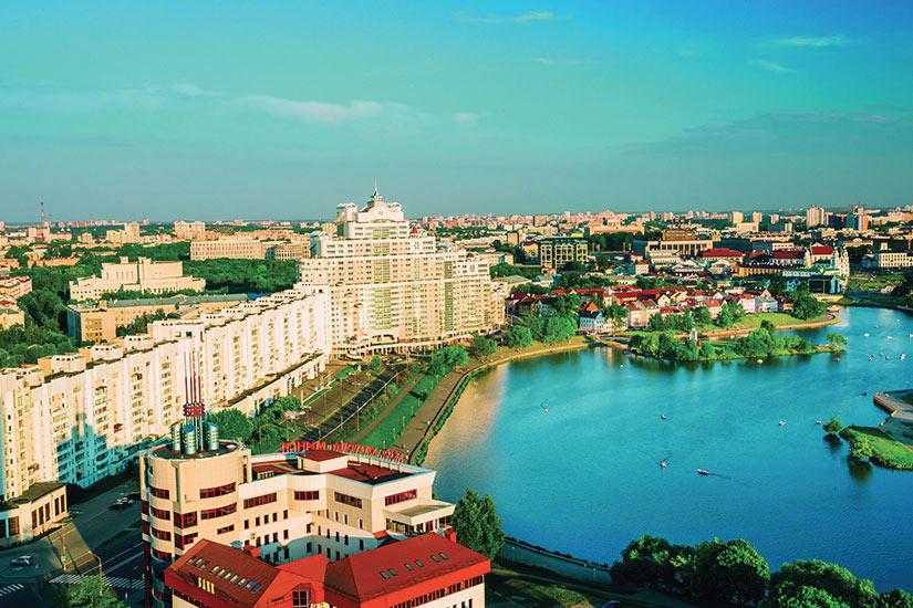 image Belarus Minsk Panorama  fo