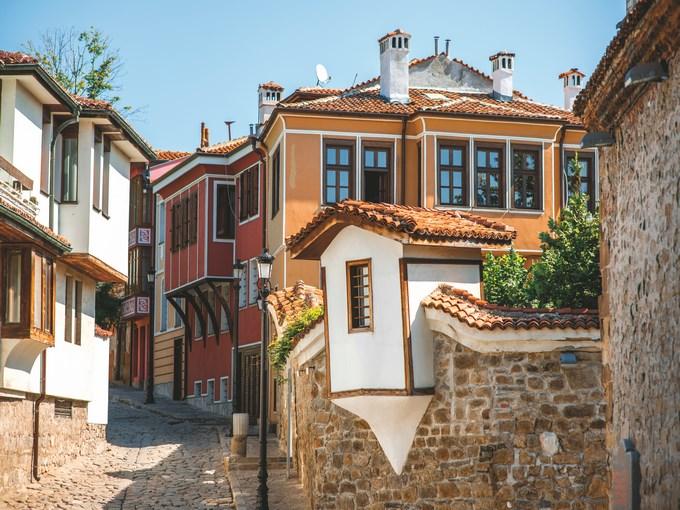 image Bulgarie plovdiv rue