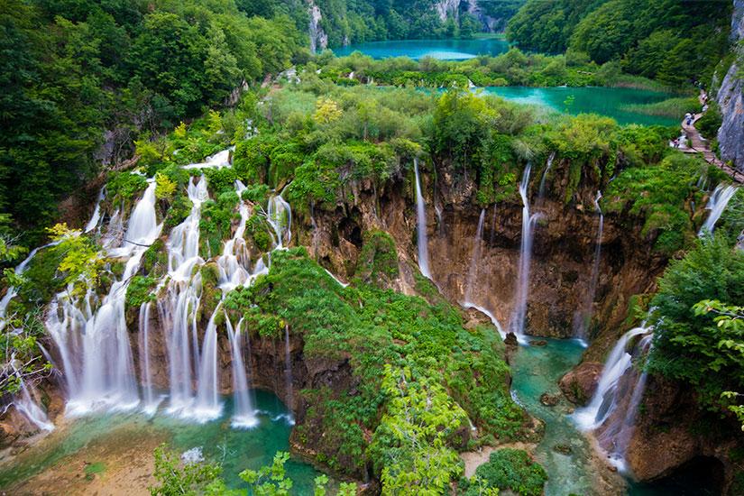 image Croatie Plitvice Cascades  it
