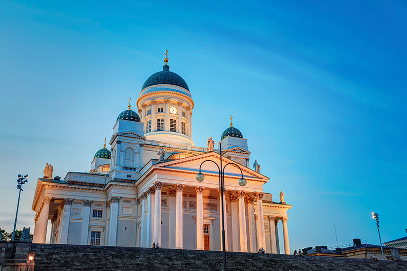 image Finlande Helsinki Cathedrale  it