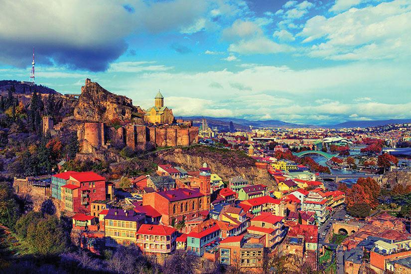 image Georgie Tbilissi Panorama  it