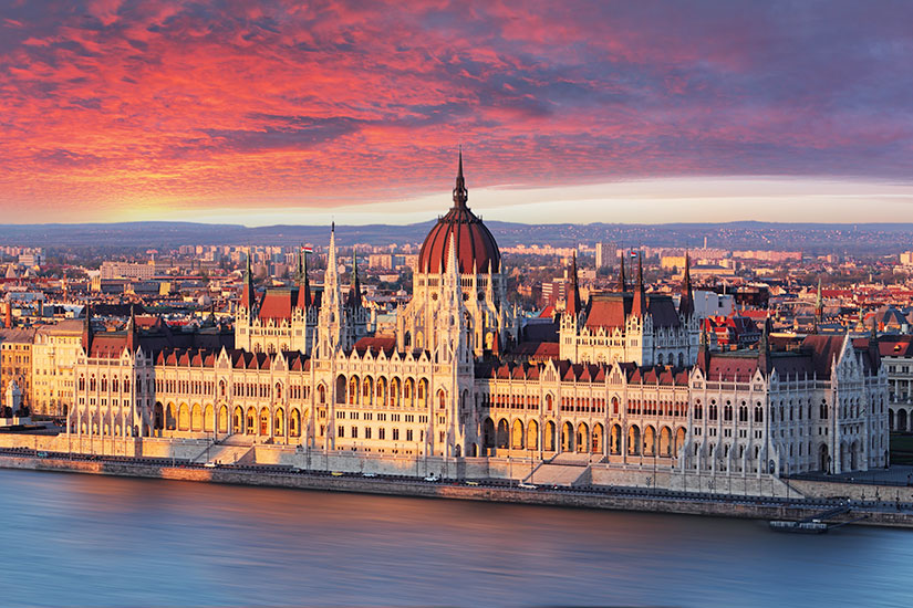 image Hongrie Budapest Parlement  it