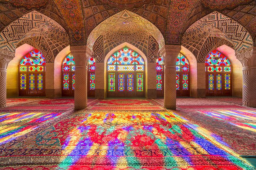 image Iran Shiraz Nasir al Mulk mosquee  fo