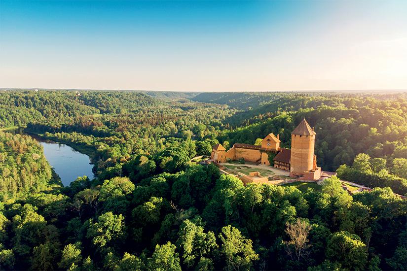 image Lettonie Turaida chateau 23 as_206662399