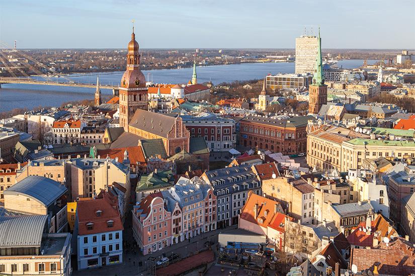 image Lituanie Riga Vue aerienne de la vieille ville 25 as_134380378