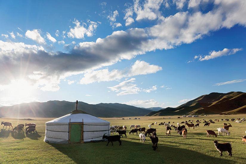 image Mongolie Desert Gobi Yourte  it