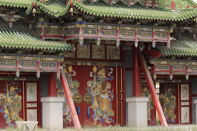 image Mongolie Oulan Bator palais  it