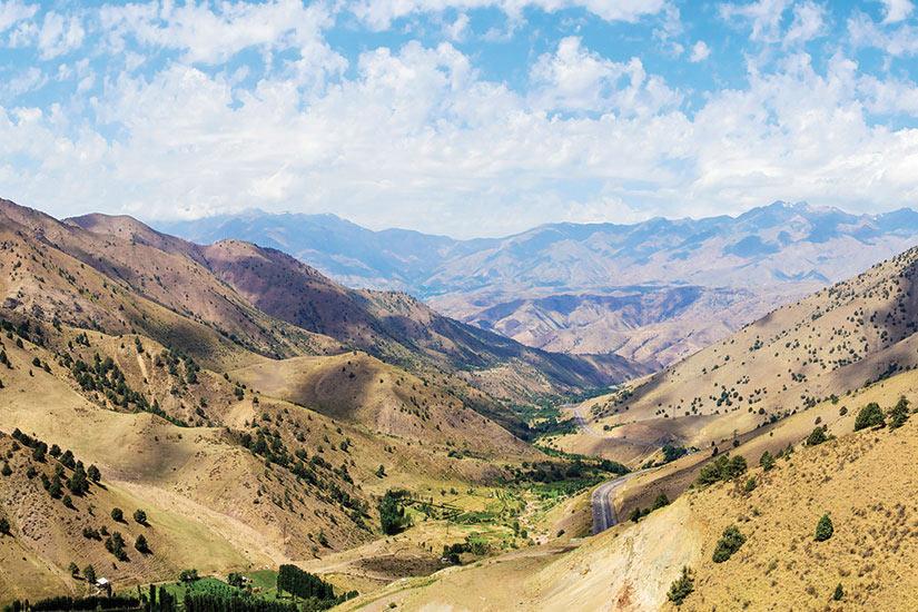 image Ouzbekistan Qamchiq col de montagne  fo