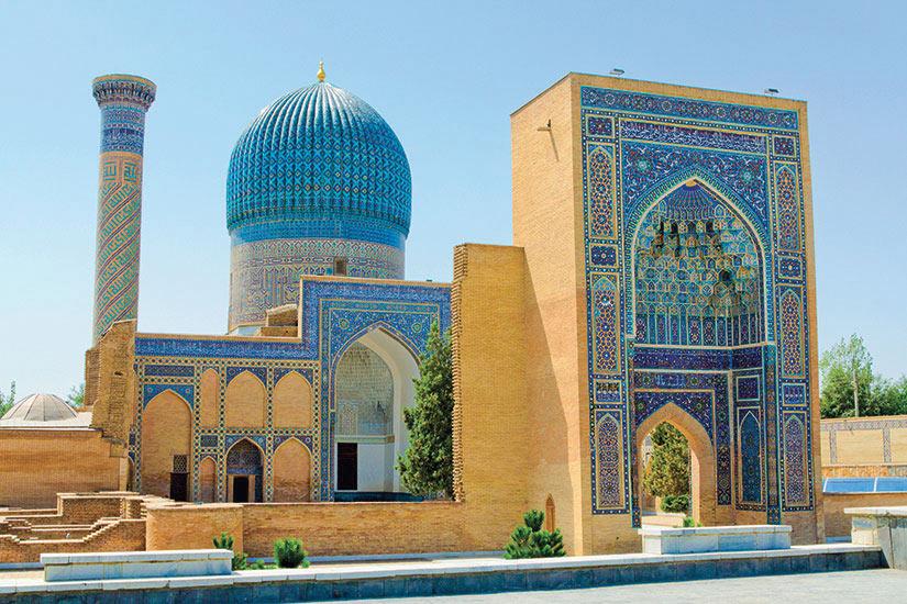 image Ouzbekistan Samarkand Mausolee Gur e Amir  it