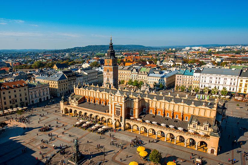 image Pologne Cracovie place marche  it