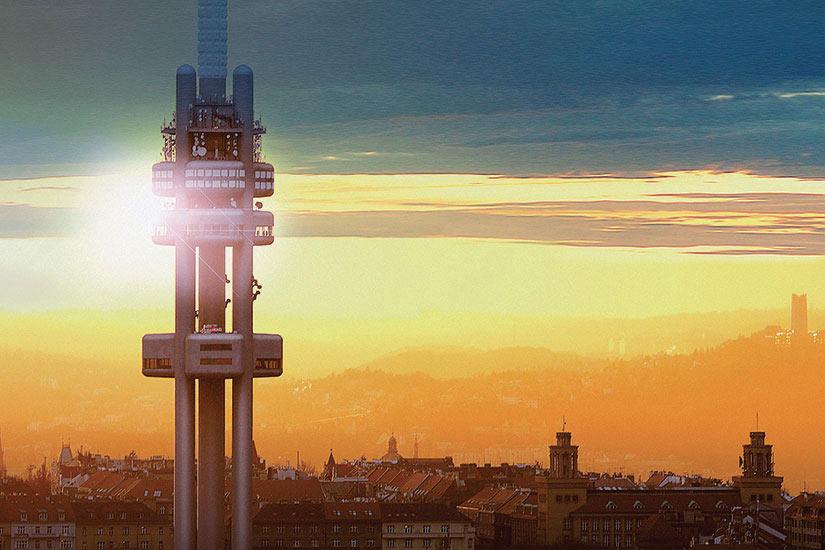 image Republique Tcheque Prague Tower Park