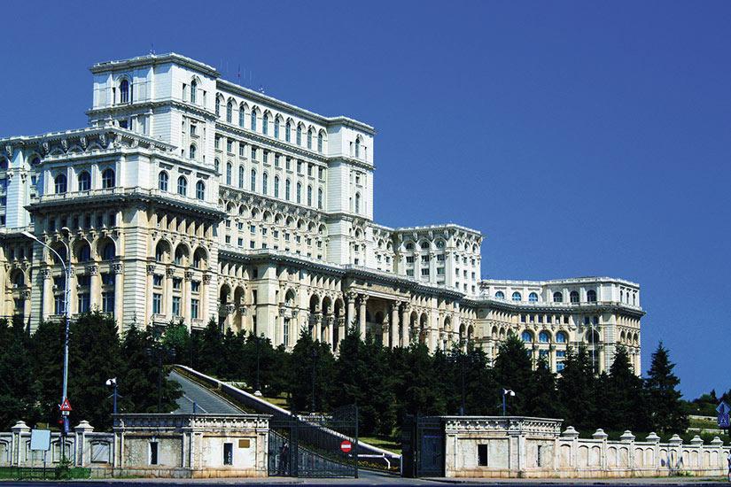 image Roumanie Bucarest Palais du Parlement  it