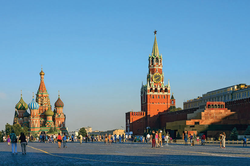 image Russie Moscou Kremlin Place Rouge  fo