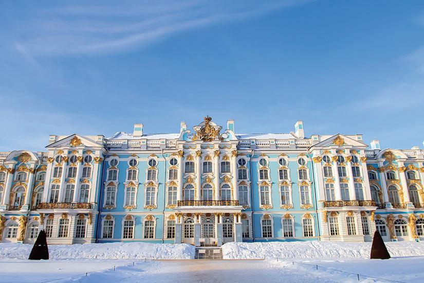 image Russie Saint Petersbourg Catherine palais  fo