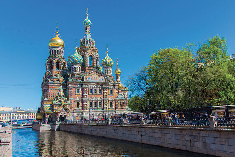 image Russie Saint Petersbourg Eglise Resurrection  fo