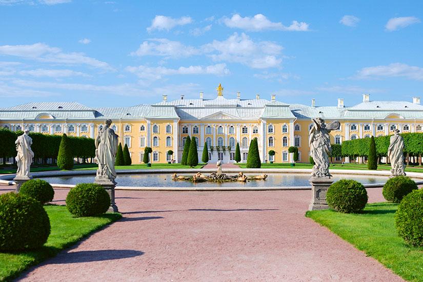 image Russie Saint Petersbourg palais Peterhof  fo