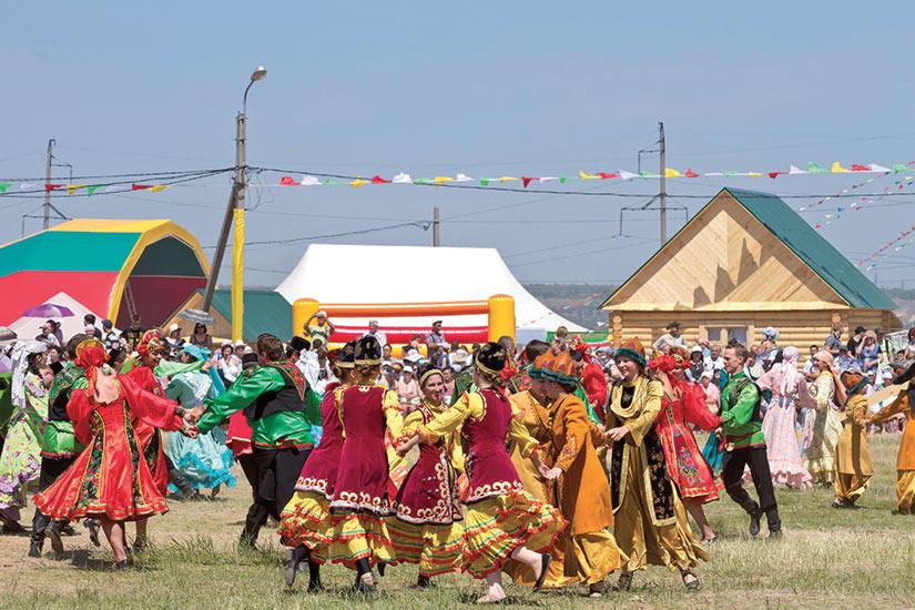 image Russie Volgograd Personnes costume national danse traditionnelle  it