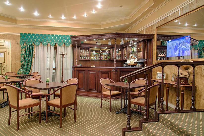 image Russie moscou hotel marco polo presnya bar