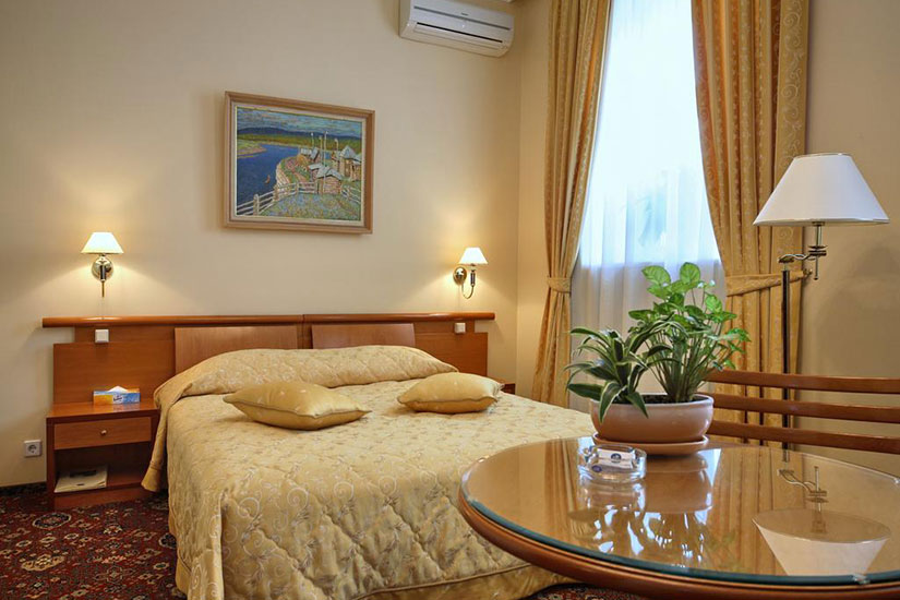 image Russie moscou hotel marco polo presnya chambre