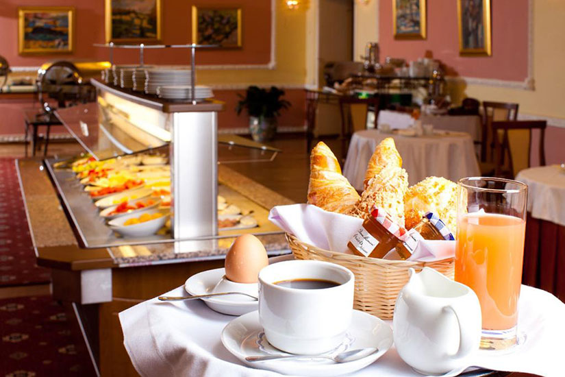 image Russie moscou hotel marco polo presnya restaurant