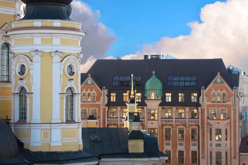 image Russie saint petersbourg hotel dostoevsky facade