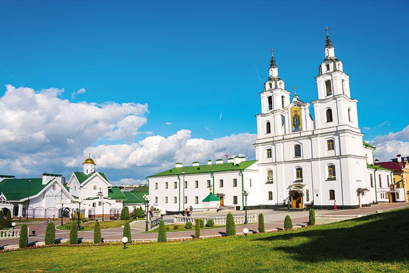 image bielorussie minsk cathedrale saint esprit  fo