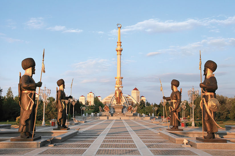 image turkmenistan ashgabat arc independance  fo
