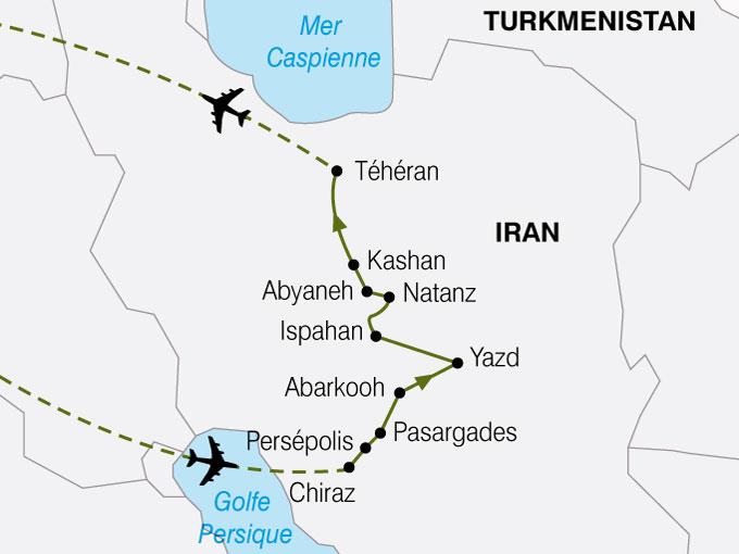 CARTE Iran Heritagedela Perse  shhiver 426687