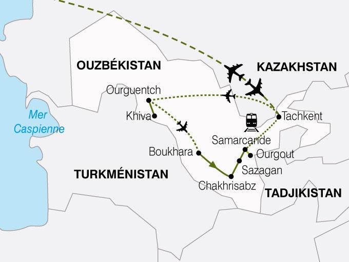 circuit de 12 jours ouzb kistan la route de la soie les vols turkish airlines pouchkine tours. Black Bedroom Furniture Sets. Home Design Ideas