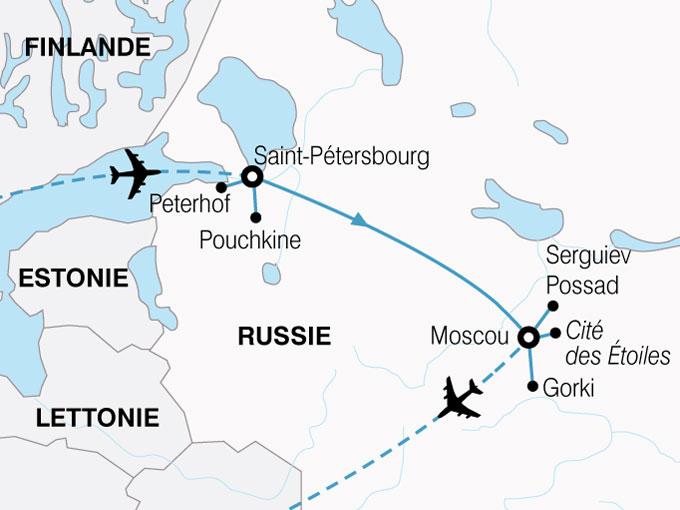 Russes et les entreprises de voyages russes