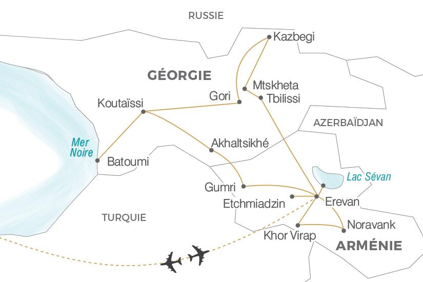 Circuit de 12 jours arménie - géorgie   l arménie et la géorgie, la ... 098f053af63