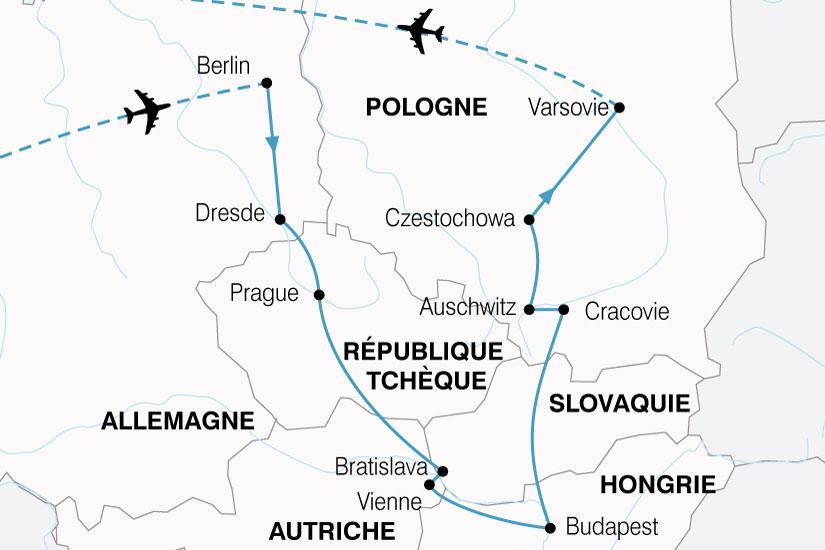 Allemagne - Autriche - Hongrie - Pologne - République Tchèque - Slovaquie - Circuit Le Grand Tour d'Europe Centrale