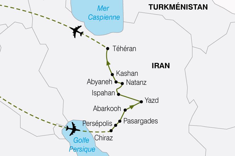 carte Iran Heritage de la Perse 195269