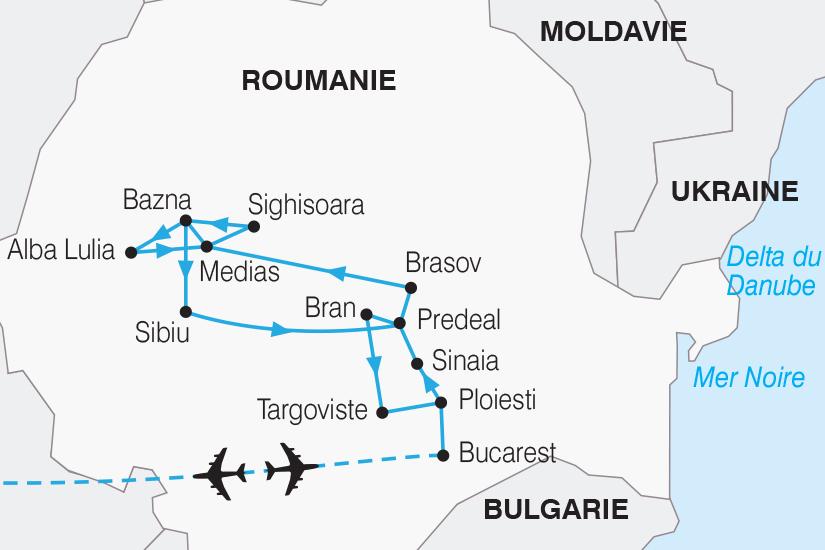 Roumanie - Circuit La Roumanie, Découverte de la Transylvanie