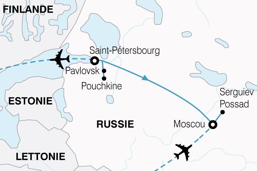 carte Russie Kremlin Ermitage 482137