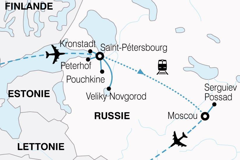 carte Russie Merveilles Russie 871668