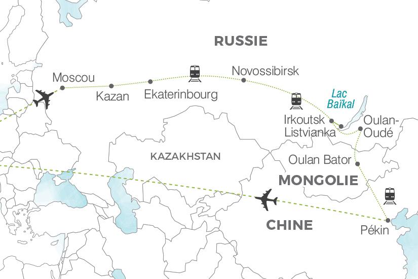 carte Russie Transsiberien L Or des tsars Pouchkine Tours 19_286 599390