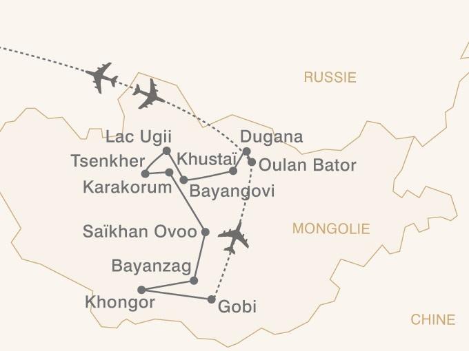 carte pouchkine hiver Asie central au pays du grand ciel 738920
