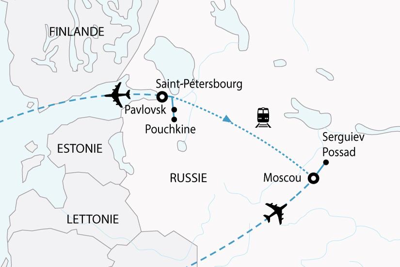 Circuit de 8 jours russie   la russie, de kremlins en ermitage ... 451cf66505f