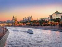 Vignette  russie moscou kremlin et moskova