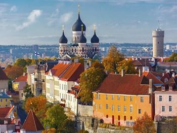 vignette Estonie tallinn vue aerienne