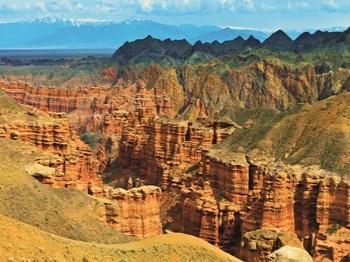 vignette Kazakhstan Canyon de Charyn