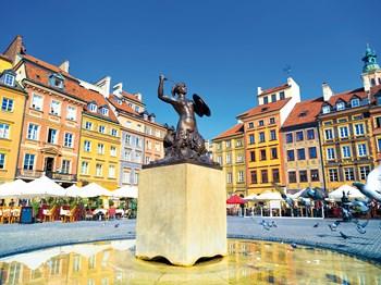 vignette Pologne varsovie statue