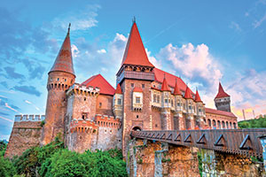 vignette Roumanie chateau Hunedoara  fo
