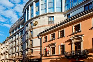 vignette Russie saint petersbourg hotel ambassador facade