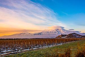 (vignette) Vignette Armenie Mont Ararat eglise  it