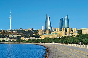 azerbaidjan bakou panorama  it