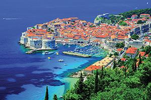 (vignette) Vignette Croatie Dubrovnik Panorama  fo
