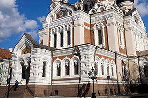 (vignette) Vignette Estonie Tallinn Cathedrale Alexandre Nevski  it